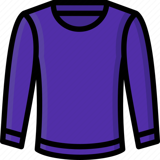 clothing, colour, jumper, mens, pullover icon