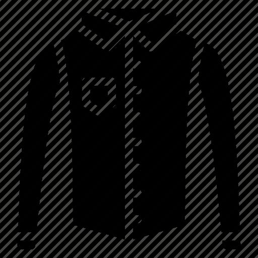 clothing, mens, shirt, solid icon