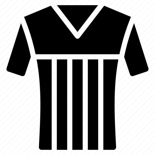 clothing, football, mens, shirt, solid icon