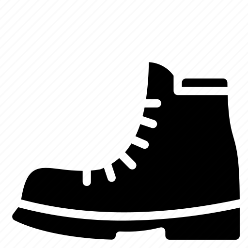 Boot, clothing, mens, solid icon - Download on Iconfinder