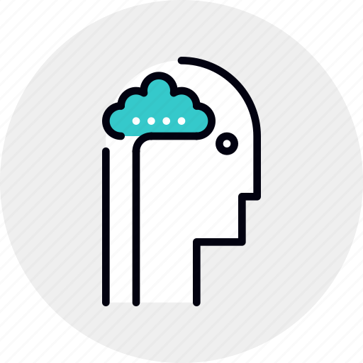 activity, brain, head, thinking icon