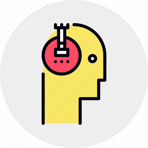 brain, logical, strategy, tactic, thinking icon
