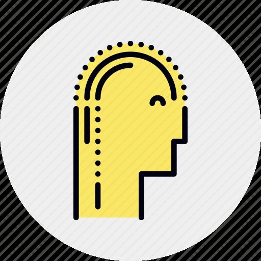 happy, mentality, positive, psychology icon