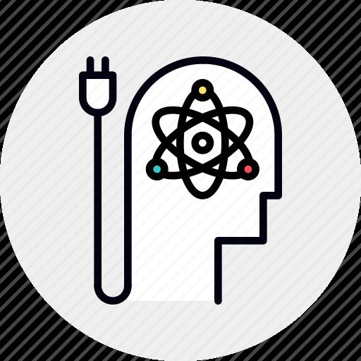 mental, mind, power, skill icon