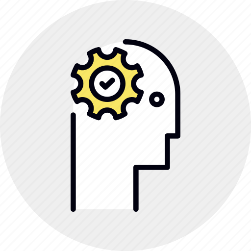 brain, comprehension, mental, working icon