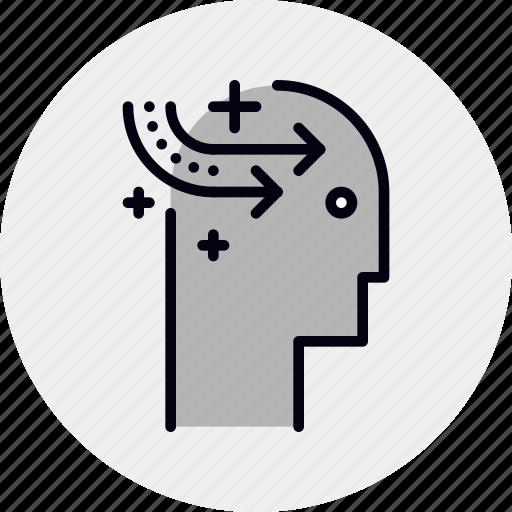 brain, education, learning, mastery, self, skill icon