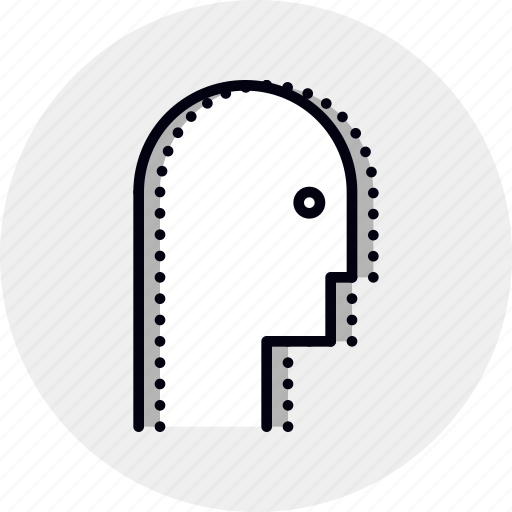 anxiety, doubt, head, personality, worry icon