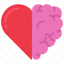 brain, health, heart, love, mental
