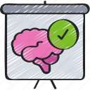 health, learning, lesson, mental, psychology, thearpy icon