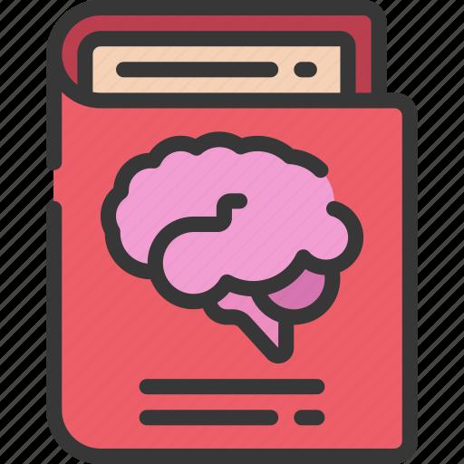 book, brain, health, learn, mental, psychology icon