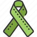 support, mental, health, ribbon, psychology, thearpy icon