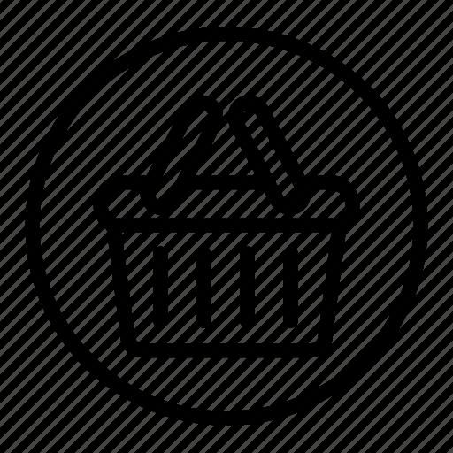 basket, cart, ecommerce, sale, shopping icon