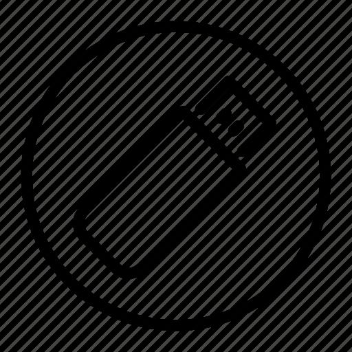 drive, flash, memory, stick, usb icon