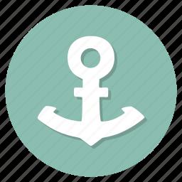 anchor, boat, nautical, sea, ship icon
