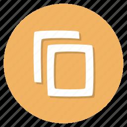 clipboard, copy, duplicate icon