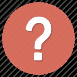 faq, mark, question, service, support icon