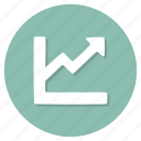 analysis, diagram, graph, statistics icon