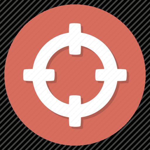 archery, bullseye, focus, target icon