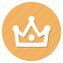 achievement, crown, winner icon