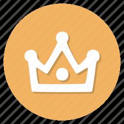 achievement, crown, winner icon
