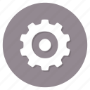 cog, configuration, options, tools icon