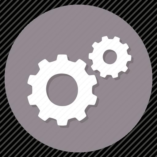 control, gear, settings icon