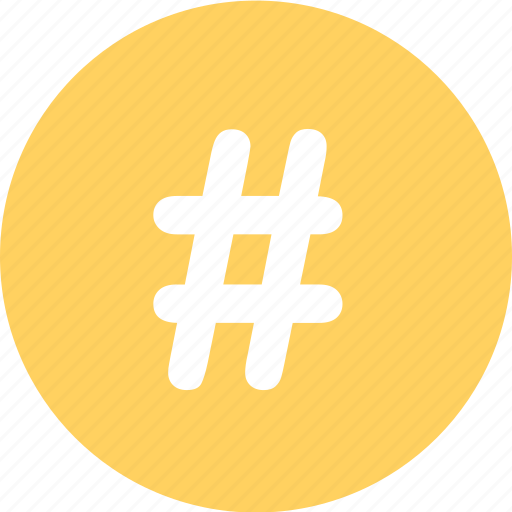 hashtag, menu, navigation, pound, sign icon