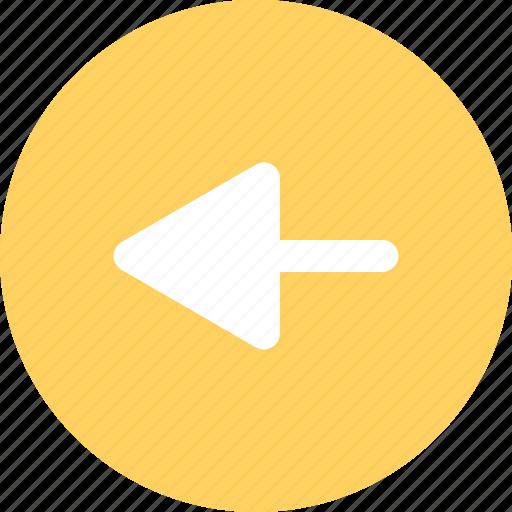 arrow, left, menu, navigation icon
