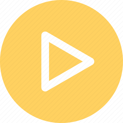 menu, navigation, now, play, video icon