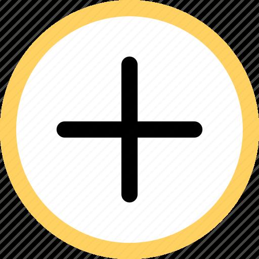 add, menu, navigation, option, plus, sign icon