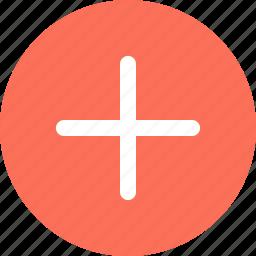 add, menu, navigation, plus, sign icon