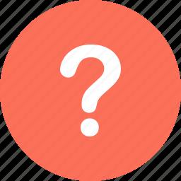 ask, mark, menu, navigation, question icon