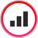 analytics, bars, data, graph, report, seo icon