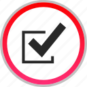 check, mark, ok, safe, secured icon