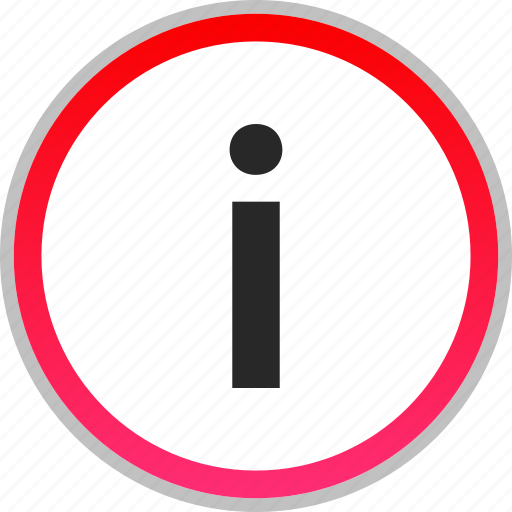 i, information, letter, more icon