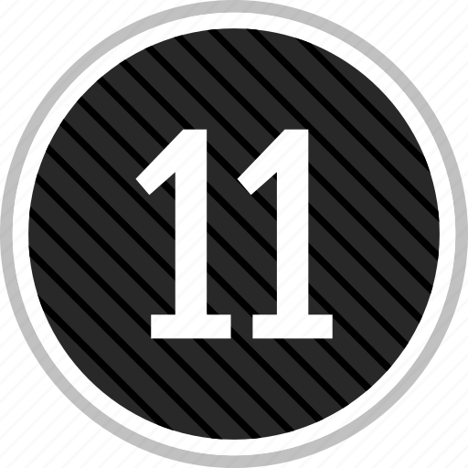 count, eleven, number icon