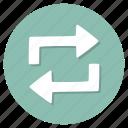 arrows, refresh, repeat, update