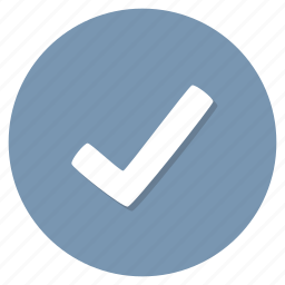accept, approved, checkmark icon