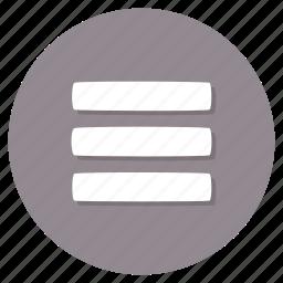 hamburger, menu, navigation icon