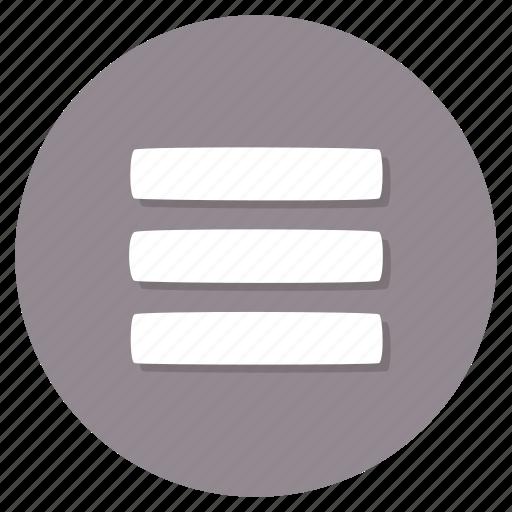 Hamburger, menu, navigation icon - Download on Iconfinder