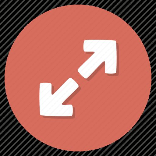 expand, fullscreen, maximize icon