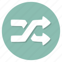 mix, player, random, shuffle icon
