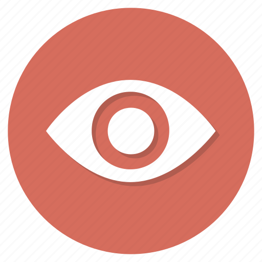 eye, visible, watch icon