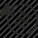 change, entrance, filter, following, login, menu, menu6 icon