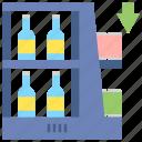 arrangement, endcap, shelf icon
