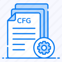 config file, customized document, document setting, file options, file setting