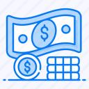 asset, capital, coin stack, liquid money, savings