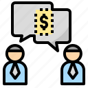 business, dealing, negotiation, purchasing, trade icon