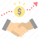 business, collaborate, contract, deal, stakeholder icon