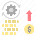 business, coin, financing, investment, money icon
